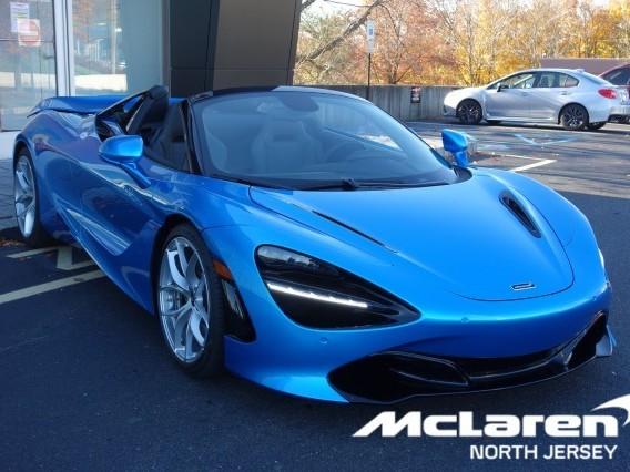 2020 McLaren 720S--Spider Luxury