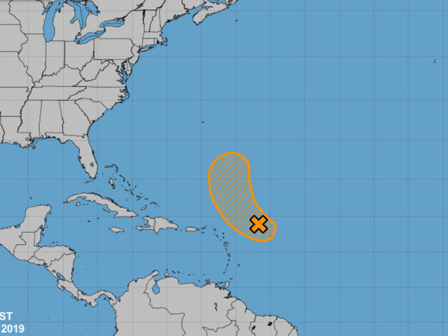Forecasters Tracking Tropical Disturbance In The Atlantic