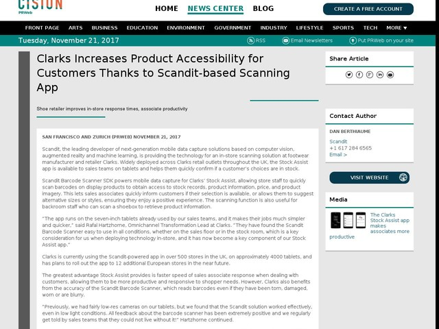 Clarks Increases Product Accessibility for Customers Thanks to...