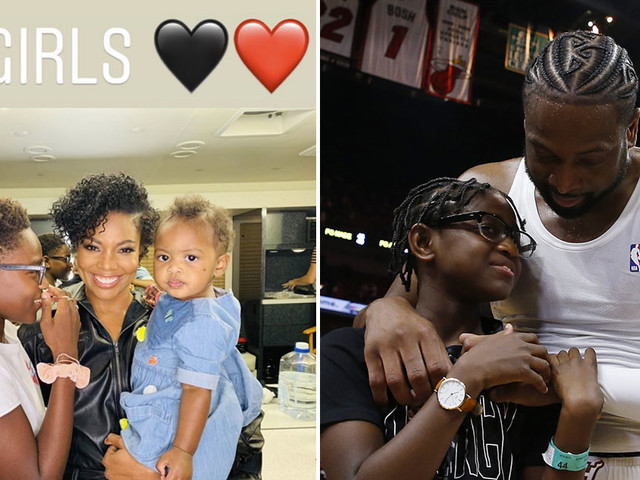 """Dwyane Wade Called His 12-Year-Old Son Zion a """"Girl"""" & Social Media Has Thoughts (and Gabrielle Union Isn't Here for Them)"""