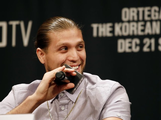 Brian Ortega injured, 'Korean Zombie' fight off
