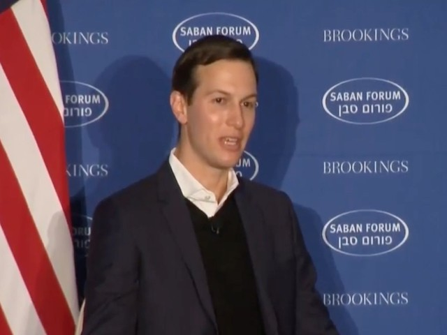 Watch: Jared Kushner Gives Remarks on Trump Administration Efforts to Broker an Israeli-Palestinian Peace Deal