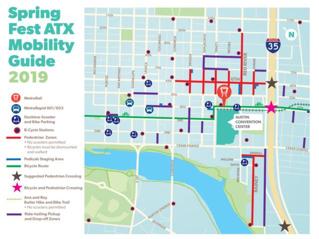 Spring Fest ATX Mobility Guide