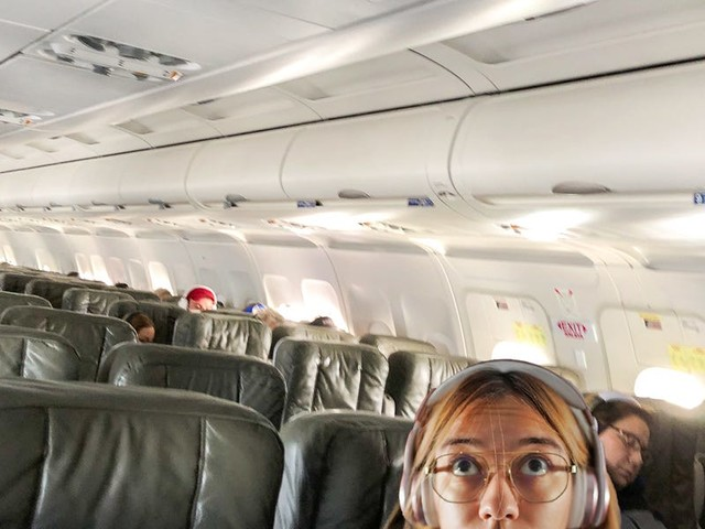 I flew economy from New York to Austin during the coronavirus pandemic, and it was the quietest flight I've ever been on. Here's what it's like to fly on a ghost plane during the outbreak.