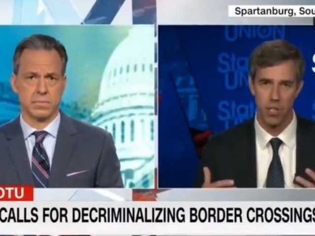 Beto tells CNN that illegal immigrants 'pose no threat' to Americans
