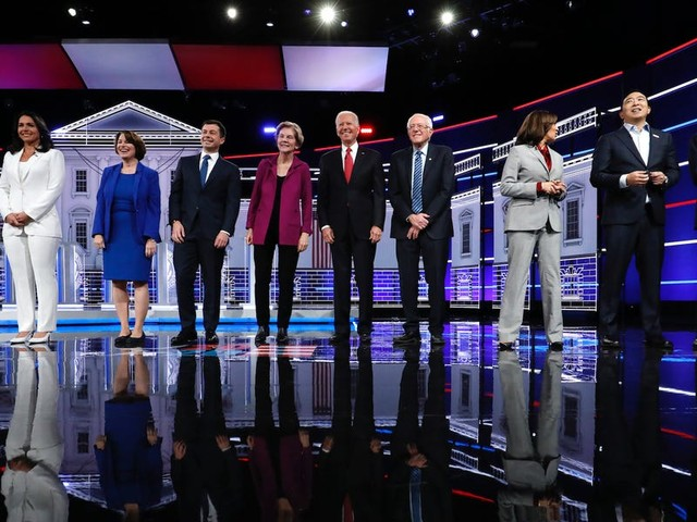 Here are the 9 biggest moments from the fifth Democratic debate in Atlanta