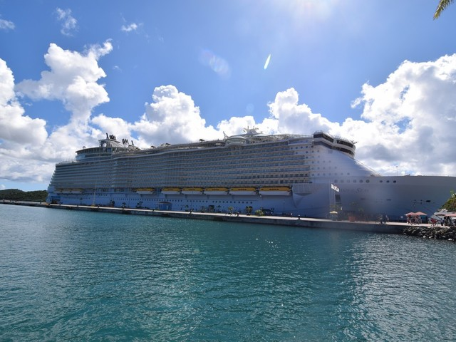 Oasis of the Seas Live Blog - Day 5 - St. Thomas