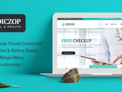 Mediczop - Responsive WordPress Theme (Health & Beauty)