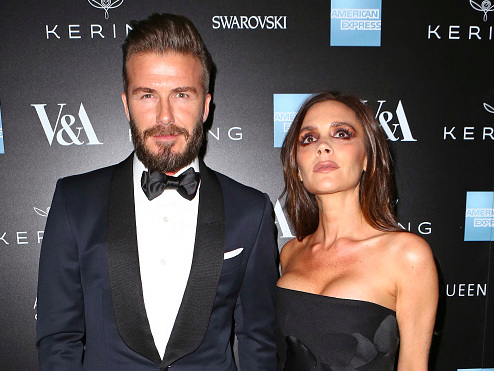 "David, Victoria Beckham NOT ""Headed For Divorce,"" Despite Report"