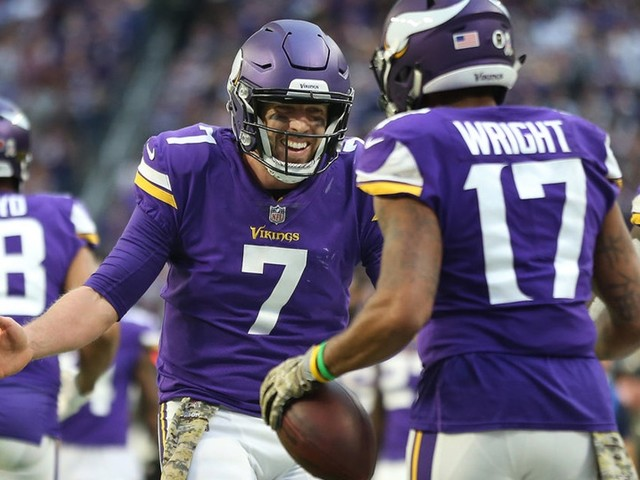 Is Case Keenum a top-10 NFL MVP candidate