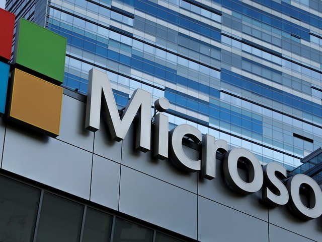 Microsoft is set for a record open after beating Amazon to a controversial contract with the Pentagon worth $10 billion