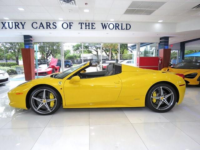 2015 Ferrari 458--Spider Convertible