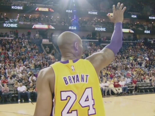Moving Kobe Bryant video tribute from 2016 shows NBA players and coaches thanking the legend for everything he did for the game of basketball