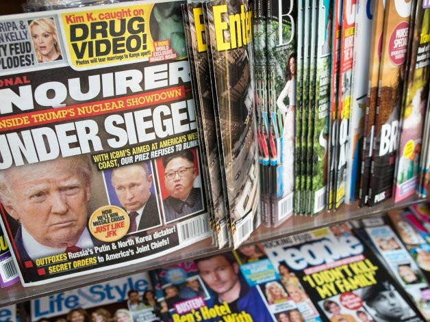 National Enquirer Parent, Staunch Trump Backer, Faces Mounting Debt, Shrinking Sales