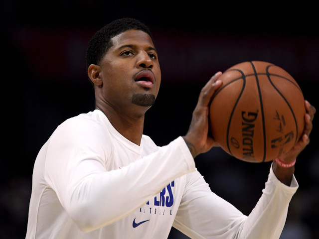 Clippers' Paul George practices, could play Monday