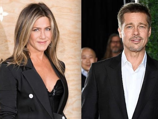 Brad Pitt, Jennifer Aniston Getting Married Again Now That He's Legally Single?