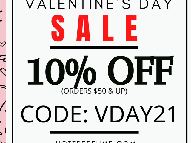 10% OFF At Hottperfume.com Orders $50