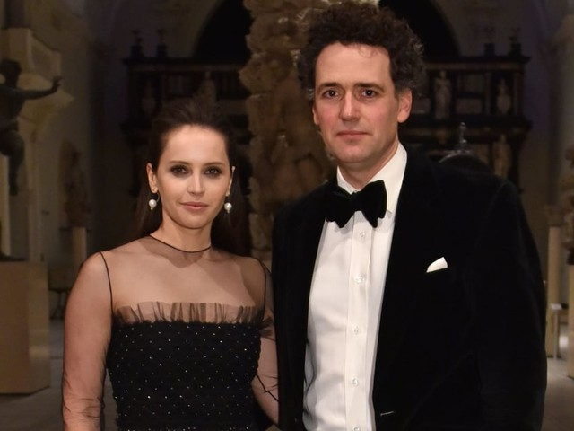 He's No Rogue One, but Felicity Jones's Husband Charles Guard Is Pretty Cool