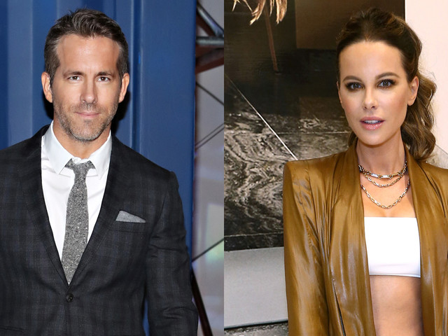 Ryan Reynolds Thinks He's Kate Beckinsale Doppelganger Too