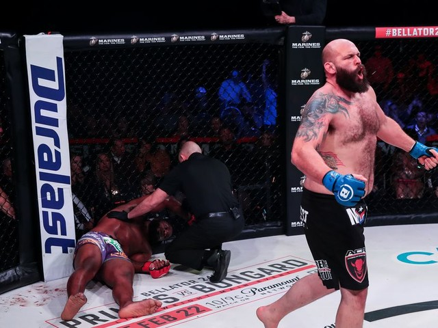 Bellator 239 results & video: Amosov takes decision over Ruth, Johnson KOs Fortune
