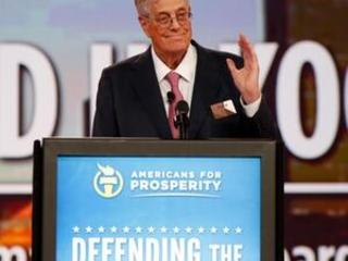 The Latest: Pompeo calls Koch 'compassionate philanthropist'