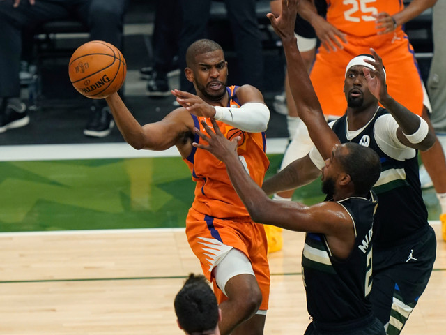 Chris Paul's feel-good NBA Finals story ends in frustration with Suns' loss