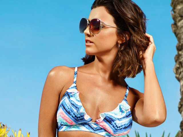 Summer Style 2017: Lucy Mecklenburgh Models Very's Latest Swimwear Range In Time For The Sun