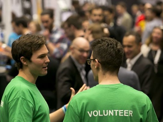 Volunteer at Disrupt SF 2018 for free admission
