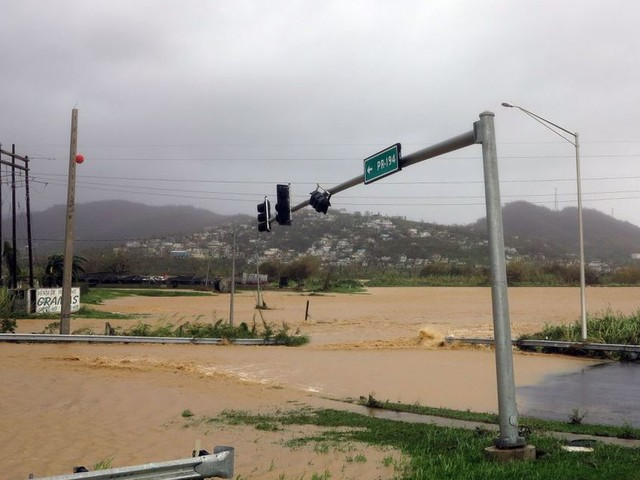 Trump basically blamed Puerto Rico for the devastation from Hurricane Maria