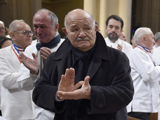 French media: Top chef Pierre Troisgros dies aged 92