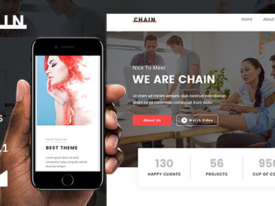 Chain Email Template + Online Emailbuilder 2.1 (Newsletters)