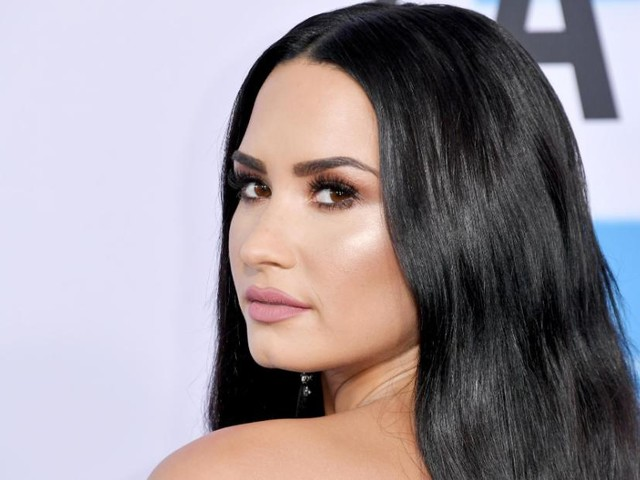 Demi Lovato has a few words for Trump