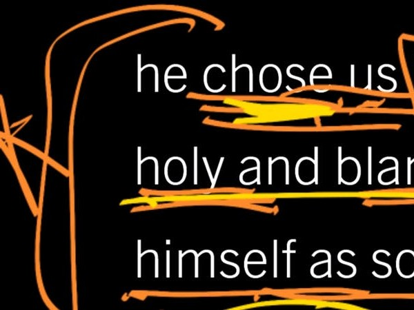 Why Did God Choose Whom He Chose? Ephesians 1:3–6, Part 8
