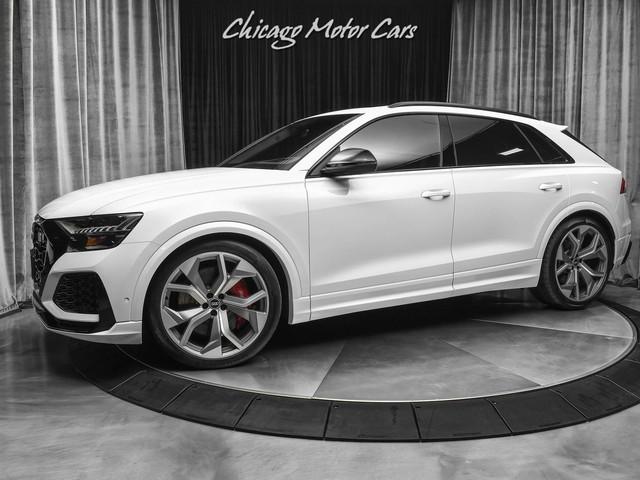 2021 Audi RS--Q8 4.0T Quattro SUV BLACK OPTIC PKG! DRIVER ASSISTANCE PKG! ONLY 103 MILES!