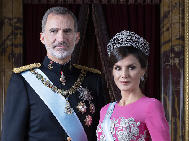 Spain's King Felipe & Queen Letizia Spotted Holding Hands During Trip To Almonte