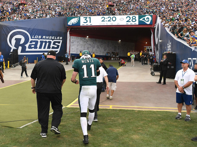 Eagles' Super Bowl hopes aren't over after Carson Wentz injury, and Bill Parcells explains why
