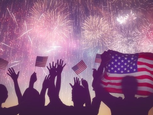 Housekeeping: Happy Masked Fourth of July, America