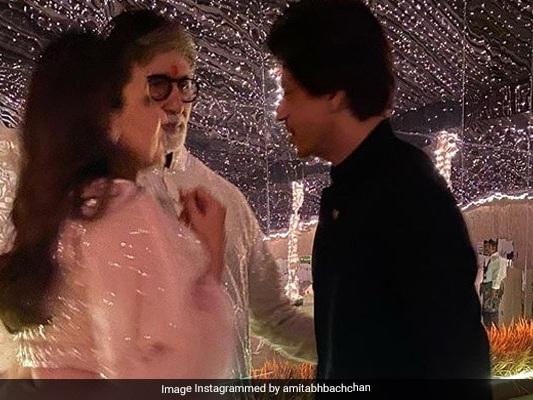 When Big B, Shah Rukh Khan, Gauri Had 'Serious' Discussions During Diwali