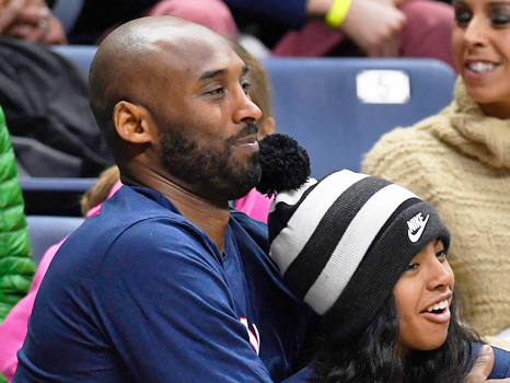Mamba Sports Academy Team Mourns Kobe Bryant & Teammate Gianna During Game — See Pics