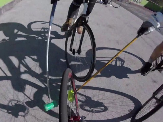 Bikes, bruises and beer: Milwaukee players take part in world championship bike polo tournament
