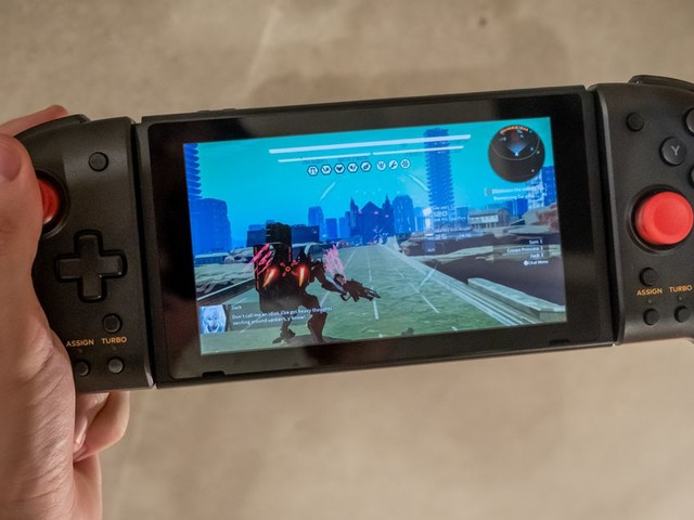 Hori's Split Pad Pro for the Nintendo Switch gives you a real controller on the go