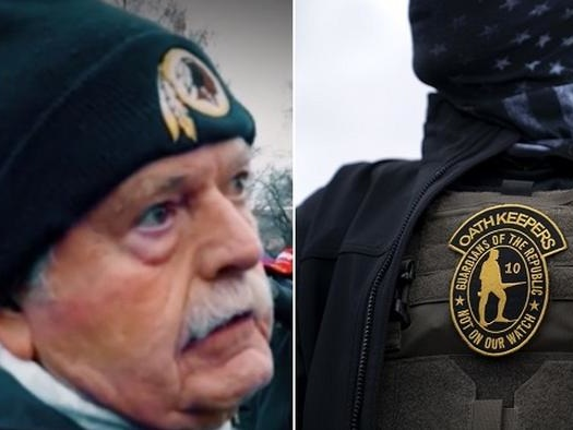 Accused 'Oath Keeper' Denies All Charges, Claims To Be Former FBI Section Chief Who's Held Top Secret Clearance For Decades
