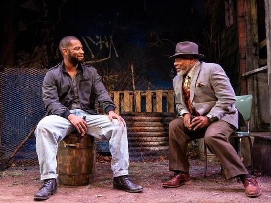 In August Wilson's 'King Hedley II,' characters actively pursue happiness