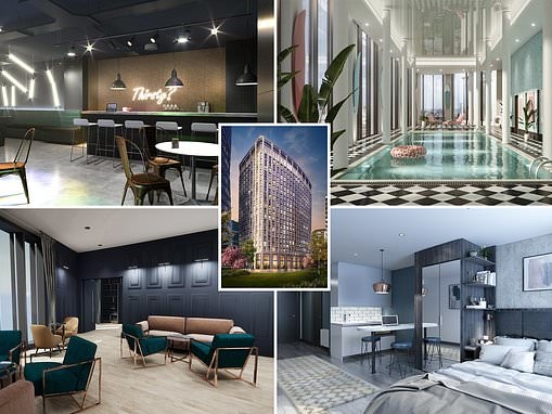 Luxury living for Millennials: Inside world's biggest 'co-living' development in Canary Wharf