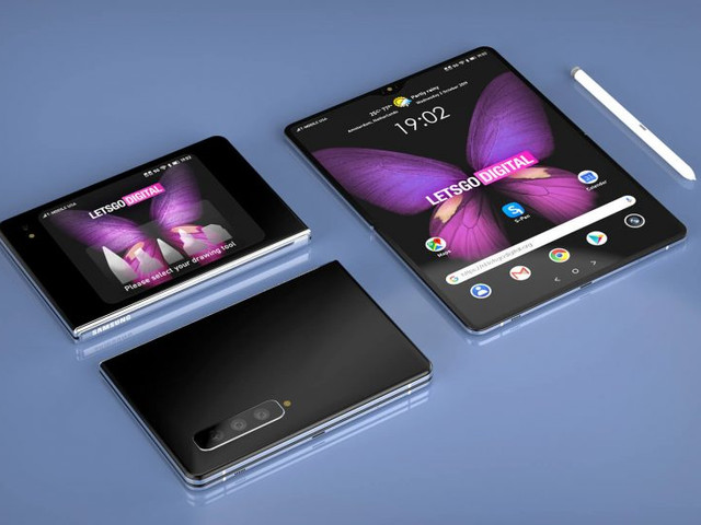 Here's Samsung's next big idea: A foldable Galaxy Note with S-Pen support