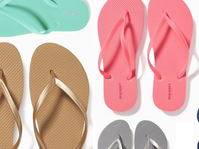 $1 Old Navy Flip Flop Sale is Today!