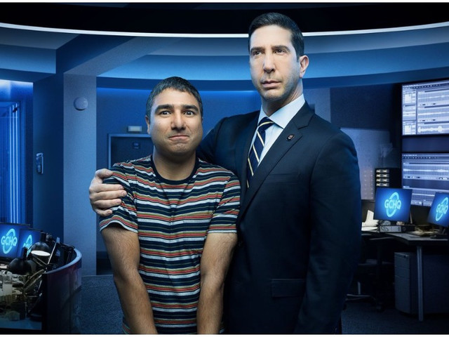David Schwimmer Reveals First Look & Premiere Date For His Sky Odd Couple Comedy 'Intelligence'