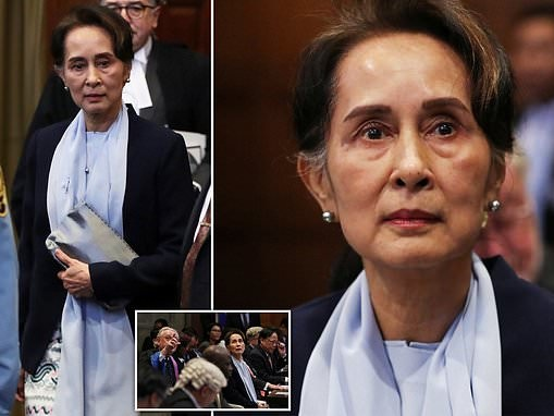 Aung San Suu Kyi says allegations that Myanmar committed genocide are 'misleading'