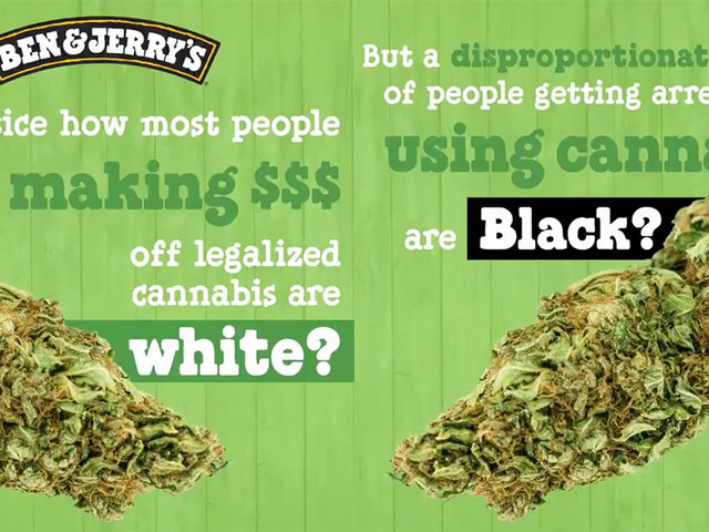 "Ben & Jerry's Calls Out White Privilege on 4/20: ""It's Hard to Celebrate When People of Color Are Being Arrested"""