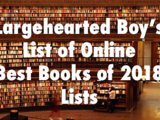 """""""Best Books of 2018"""" Lists Update - November 14th"""